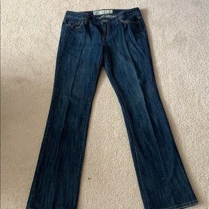 The Loft slim boot cut jeans